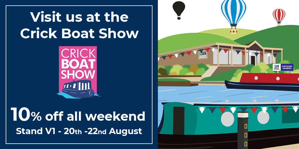 Midland Chandlers are exhibiting at Crick Boat Show 2021!