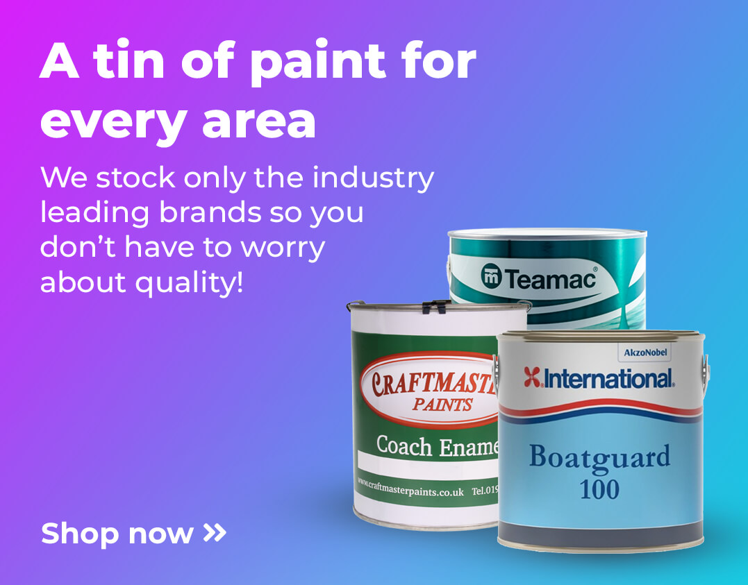 A tin of paint for every area