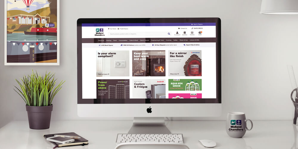 The new & improved Midland Chandlers website is now live.