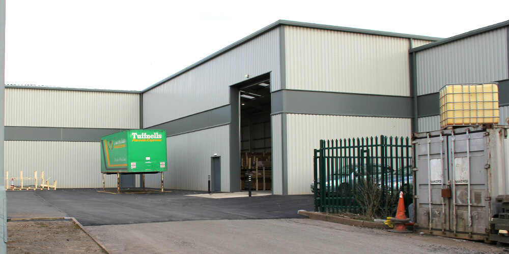 Further warehouse extension now complete