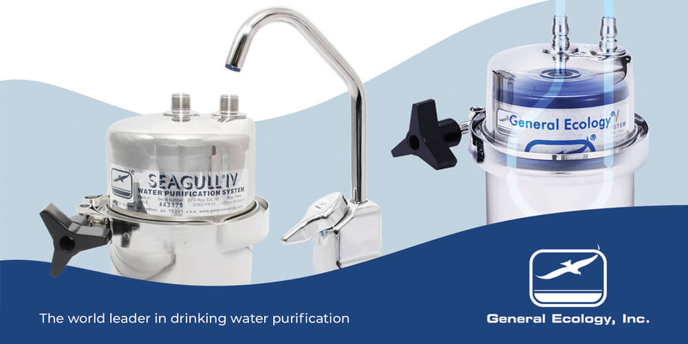 We now stock General Ecology water purification systems