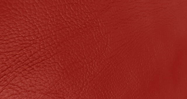 Faux Leather - Red