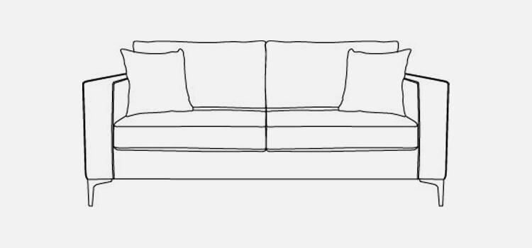 Kansas 2 Seater Sofa