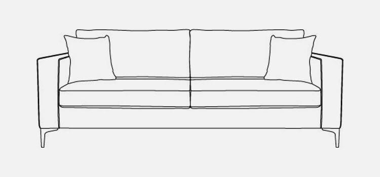 Kansas 3 Seater Sofa