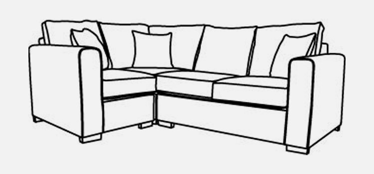 Manhattan Left Corner Sofa