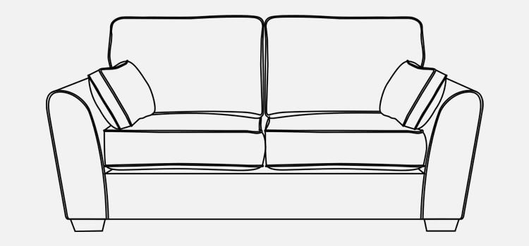 Vienna 3 Seater Sofa