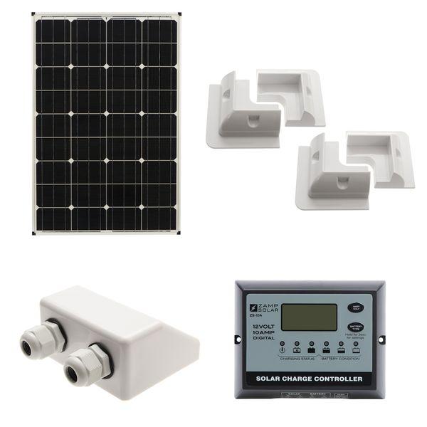 80W Solar Panel Kit A