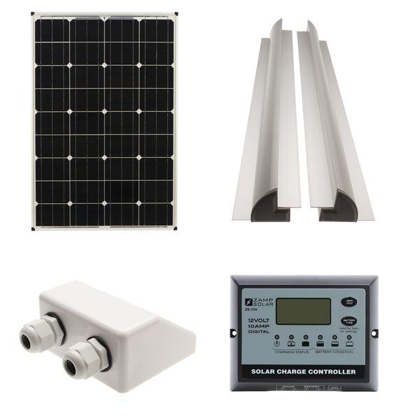 80W Solar Panel Kit B