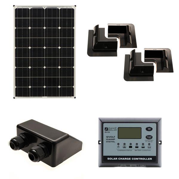 80W Solar Panel Kit C