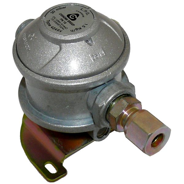 Caravan Regulator 8mm 30mbar