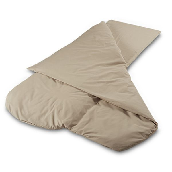 Cappuccino Compact Duvalay 4.5 Tog Sleeping Bag