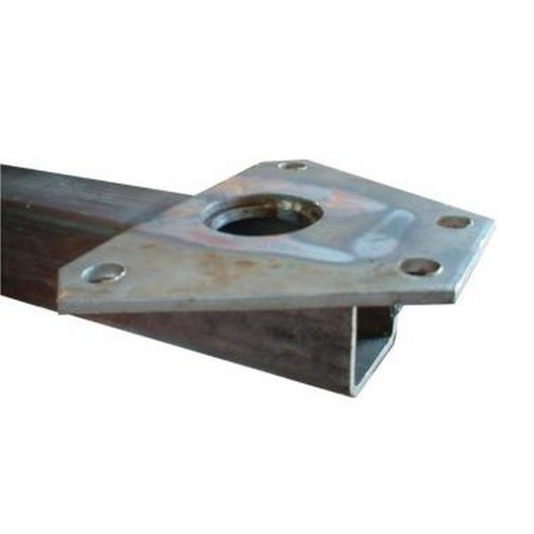 70 x 70mm Straight Drawbar