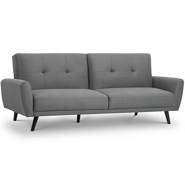 Monza Sofa Bed in Grey Fabric