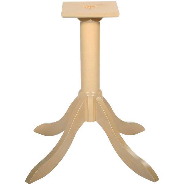 Cylinder Style Table Pedestal Sonoma Oak