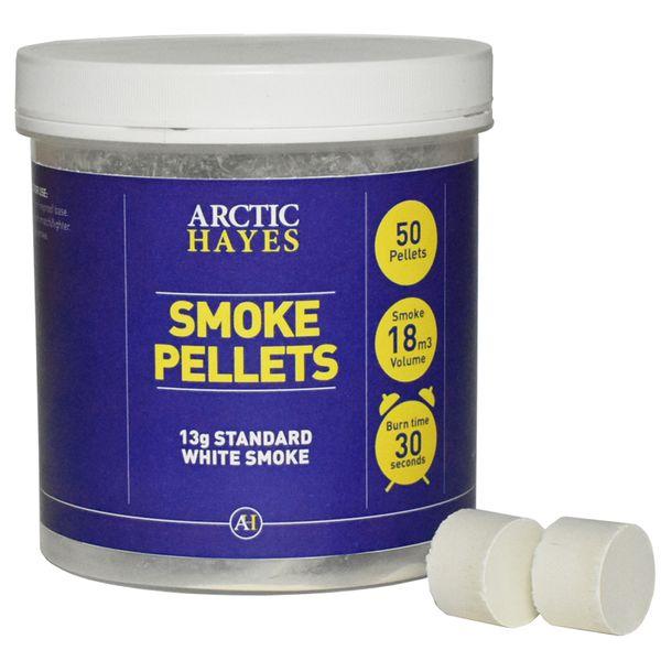 Arctic Hayes Smoke Pellets 5g Tub of 50