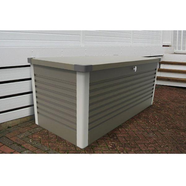 Large Patio Storage Box Olive Green Arleigh International