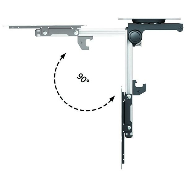 Kuma Flip Down TV Bracket