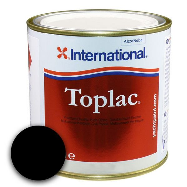 Toplac Black 051 - 750ml