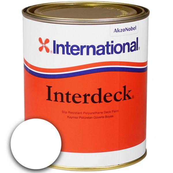 Interdeck Deck Paint White - 750ml