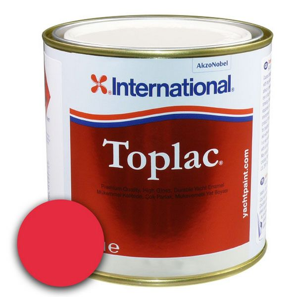 Toplac Fire Red 504 - 750ml