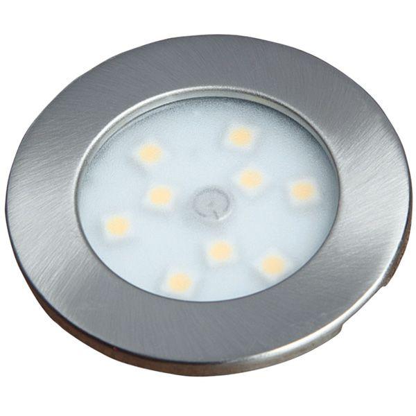 12V Lumo LED9 Touch Light Nickel Cool White
