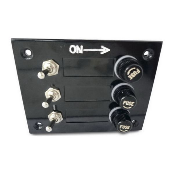 3 WAY FUSED SWITCH PANEL